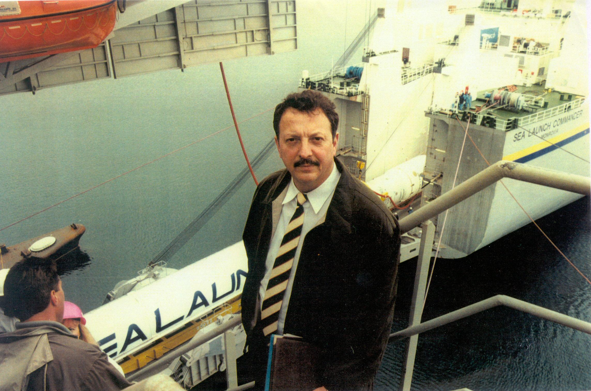 Agarkov Anatoliy Zenit sea launch